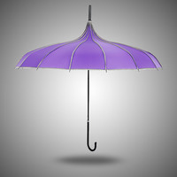 Strong Character Design Stylish Princess Creative Vintage Umbrella [4918249092]