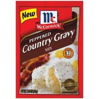Gravies Peppered Country Gravy Mix, 2.64 OZ (Pack of 6) - Walmart.com