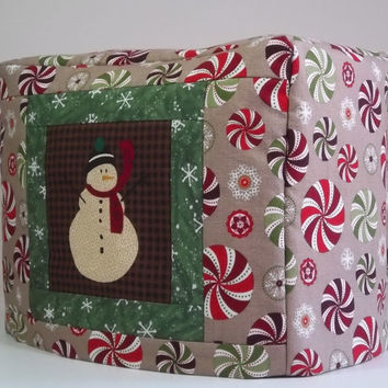 Holiday Toaster Cover - Snowman 2 slice toaster