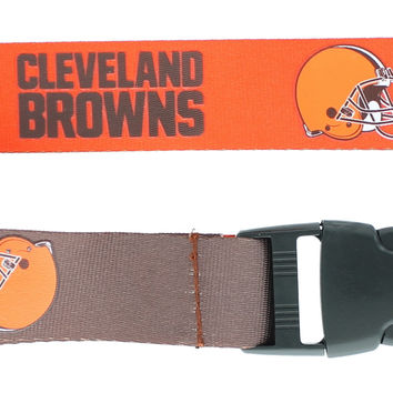 Cleveland Browns Lanyard - Reversible