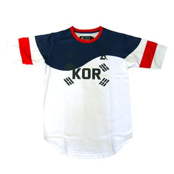 Control Sector Korea Jersey In White