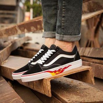 DCCKIG3 Vans x Thrasher Old Skool OS Men Women Casual Shoes:LV-06