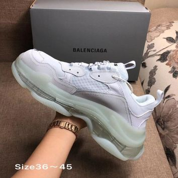 WHITE BALENCIAGA SNEAKERS SHOES FOR WOMEN MEN GIFT
