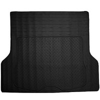 OxGord WeatherShield HD Heavy Duty Rubber Trunk Cargo Liner Floor Mat, Trim-to-Fit for Car, SUV, Van & Trucks (Black)