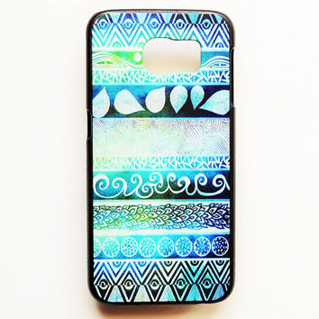 Samsung Galaxy S6 Tribal Case Hard Plastic Aztec Galaxy S6 Back Cover Tribal Pattern Samsung S6 Aztec Cover