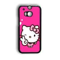 Hello Kitty Girl HTC One M9 Case
