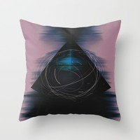 Energy Influx Throw Pillow by Ducky B