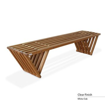 touchGOODS Premium White Oak Bench X70