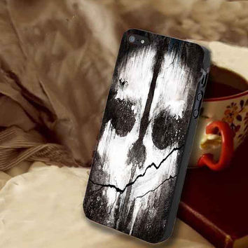 call of duty ghost customized for iphone 4/4s/5/5s/5c, samsung galaxy s3/s4/s5 and ipod 4/5 case