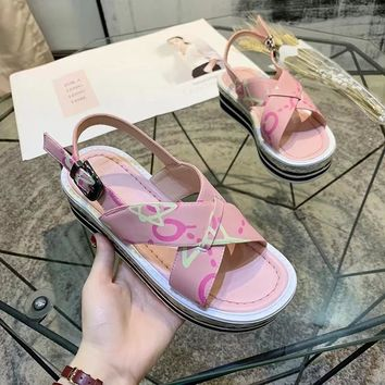 GUcci Women Casual Shoes Boots casual leather Women Heels Sandal Shoes