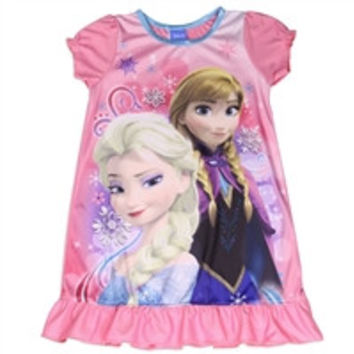 FROZEN Girls Size 8 Nightgown-fz155b