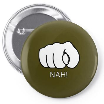 nah Pin-back button