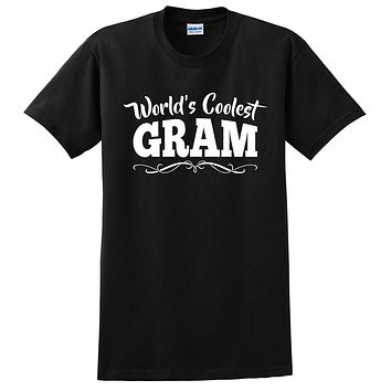 World's coolest gram Mother's day birthday gift ideas for new grandma proud grandmom gifts for her T Shirt