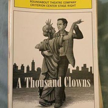 A Thousand Clowns Playbill