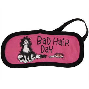 ONETOW Cat Bad Hair Day Sleep Mask