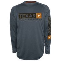 Texas Longhorns Scout Long Sleeve T-Shirt - Charcoal
