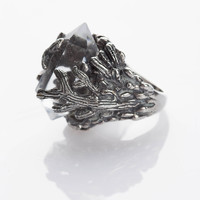 Nevada Cactus Ring - Crystal | Spell & the Gypsy Collective