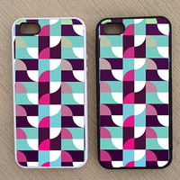 Cute Abstract Geometric Pattern iPhone Case, iPhone 5 Case, iPhone 4S Case, iPhone 4 Case - SKU: 123