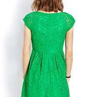 Ladylike Lace Dress