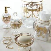 """Louvre"" Vanity Accessories - Horchow"
