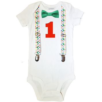Hungry Caterpillar First Birthday Outfit Baby Boy 8b068daae