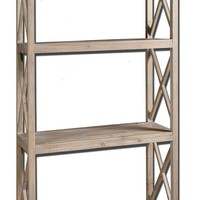 Stratford Reclaimed Wood Etagere by Uttermost