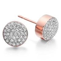 Monica Vinader 'Ava' Diamond Button Stud Earrings | Nordstrom