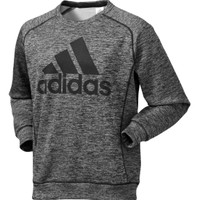 adidas Men's Team Issue Fleece Graphic Crew Sweatshirt