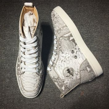 Christian Louboutin CL Style #2254 Sneakers Fashion Shoes Best Deal Online