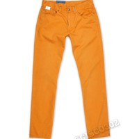 Polo Ralph Lauren Pants Straight Fit Size 32x32 Chinos Tuscan Orange