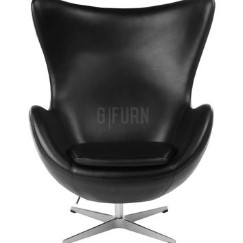 Egg Chair - Leather - Reproduction | GFURN