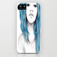 Blue iPhone Case by Krista Rae | Society6