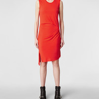 Womens Marilla Dress (Geranium) | ALLSAINTS.com