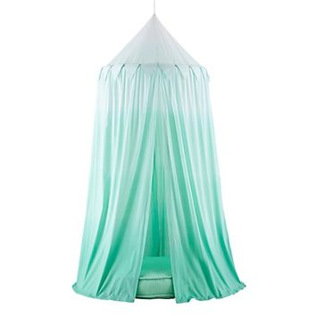 Home Sweet Play Home Canopy & Cushion (Green Ombre) | The Land of Nod
