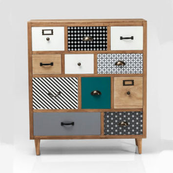 Eclectic 11 Drawer Dresser
