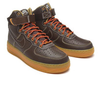 NIKE fashion tending sneaker sports shoes running shoes brown high Top