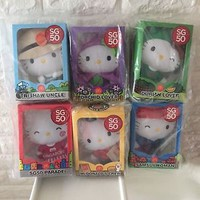 MISB Exclusive Singapore SG50 MacDonald's Hello Kitty Set Of 6 Collectibles