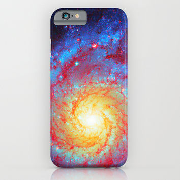 Spiral Galaxy iPhone & iPod Case by Starstuff
