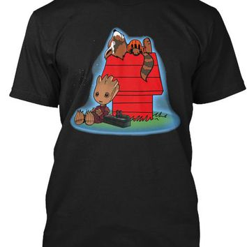 Groot Snoopy Style T Shirt