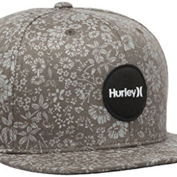 Hurley Cap KRUSH SNAPPER SNAPBACK HAT cool grey