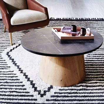 Commune Marble-Topped Coffee Table