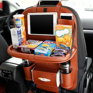Multi-function Car Back Seat Organizer