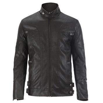 Bomber Leather Motorcycle Jackets