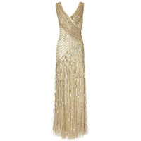 Buy Ariella Juliet Sequin Long Dress online at John Lewis