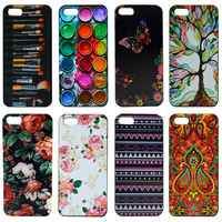 For Apple iphone 5c Case Cover Beauty Painting Skin Custom Hard Phone Plastic Case Cover For iphone 5c