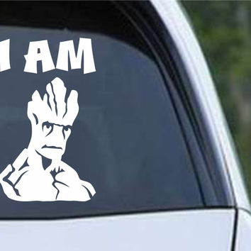 Guardians of the Galaxy - I Am Groot Vinyl Die Cut Decal Sticker