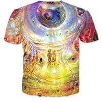 Trippy dream universe tee