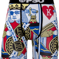 PSD Kings Boxers In White Multicolor