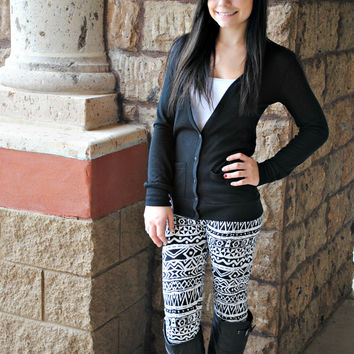 AZTEC INTO THE WILD LEGGINGS - ONE