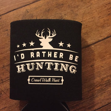 Hunting Can Cooler, Duck Hunting Hugger,  Camo Can Cooler, Beer Can Cooler, Hunting Gifts, Camouflage Gift, Hunter, Country Wedding
